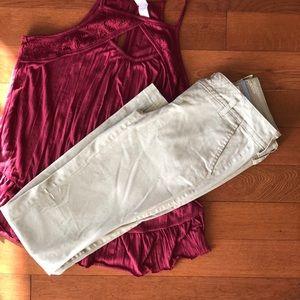 Arizona Jean co. Khaki Pants Size 1
